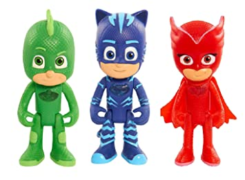 "PJ Masks 6"" Talking Action Figure Set - One (1) each of Gekko"