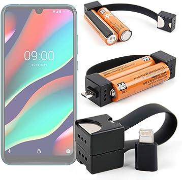 DURAGADGET Cargador de Llavero para Smartphone ZTE Blade A5 2019 ...