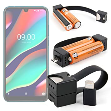 DURAGADGET Cargador de Llavero para Smartphone ZTE Blade A5 ...