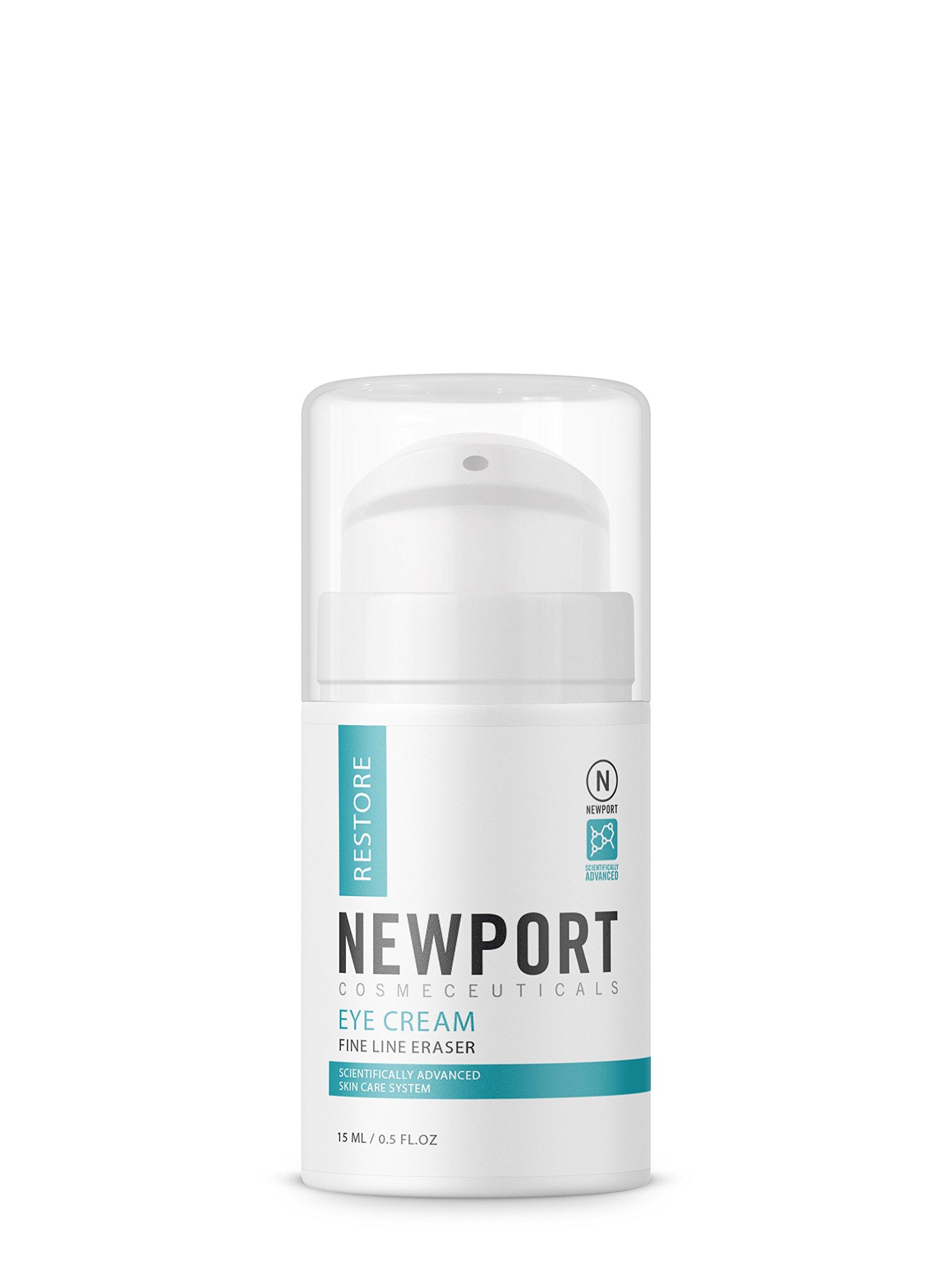 Eye Cream Anti Aging Retinol Moisturizer - Reduce Dark Circles & Under Eye Treatment - Natural Day & Night Repair Cream