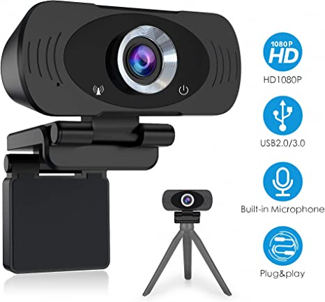 Video Conference Camera 1080P//720P HD Webcam Computer Camera with Noise Reduction Microphone USB Plug /& Play for Video Meeting Online Training Teaching Live Webcasting Aibecy Webcam
