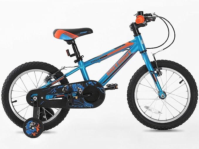 Niños bicicleta con rueda de apoyo de aleación de 16 pulgadas, Hi ...