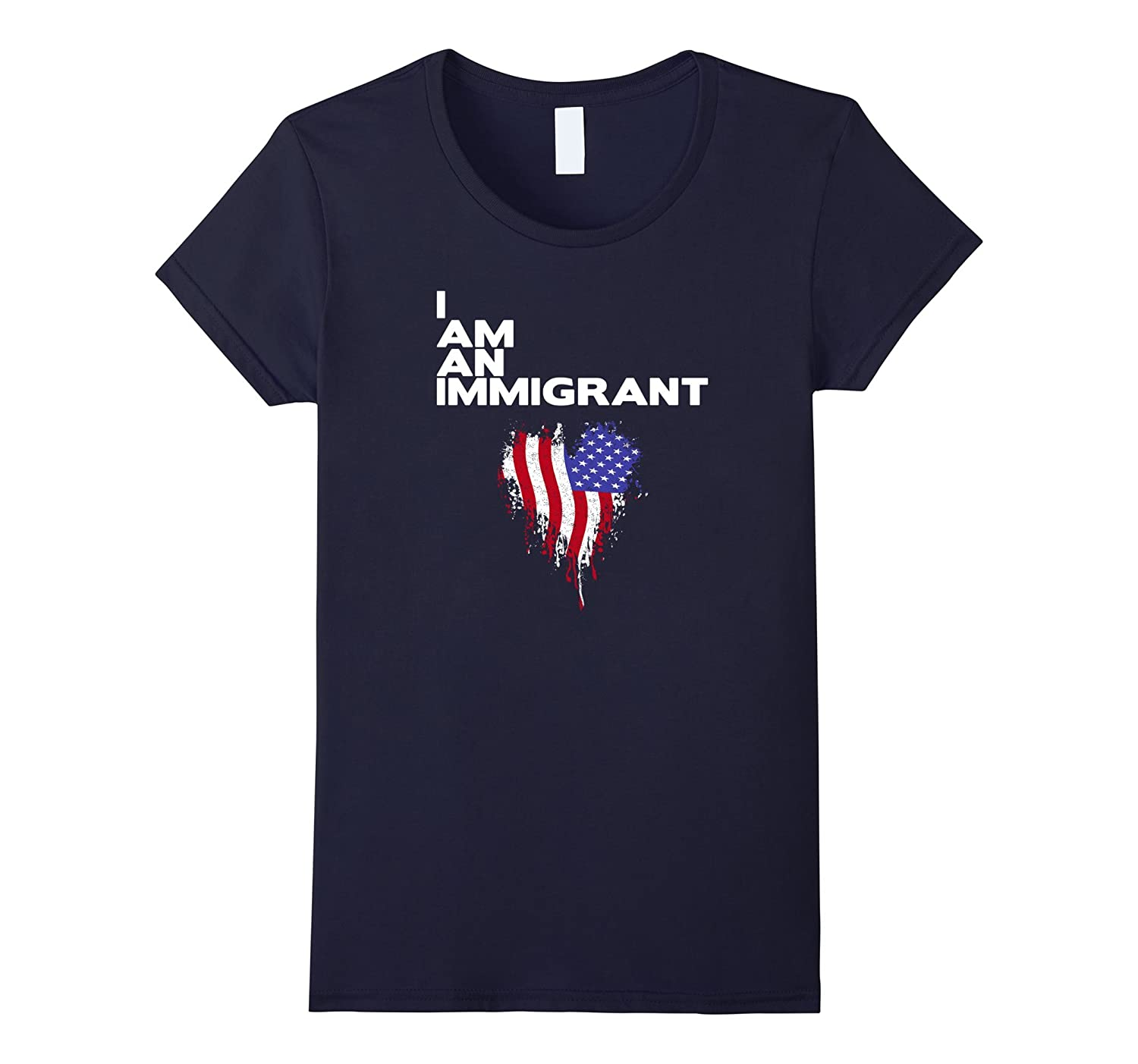 I am an Immigrant TShirt Refugees Welcome Top Resist