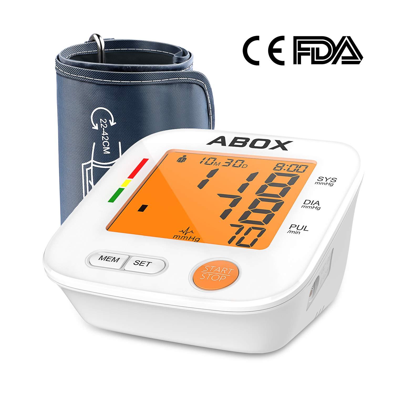 Medidor de presión digital de brazo, Tensiómetro automático profesional, grande pantalla LCD 2 * 90 posiciones de memoria: Amazon.es: Salud y cuidado ...