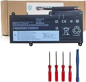 OUSIDE 45N1754 45N1755 Laptop Battery for Lenovo ThinkPad E450 E450C E455 E460 E465 E475 E470 E460C Series 45N1756 45N1757 45N1752 45N1753 [4200mAh / 47Wh]