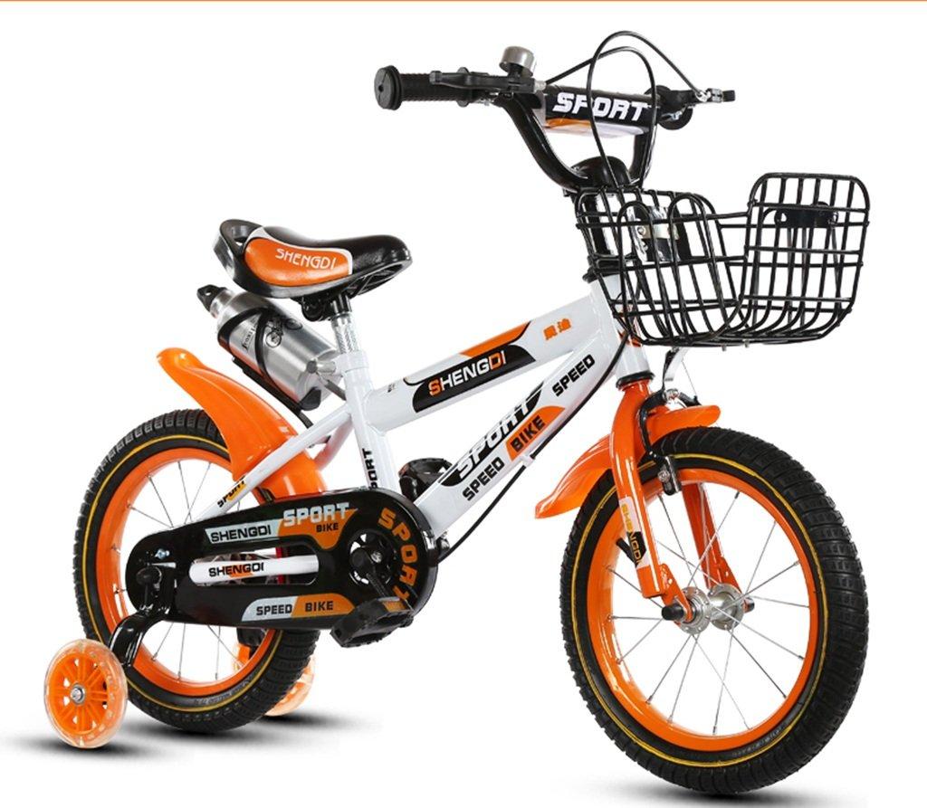 QFF 軽量自転車、男の子、女の子自転車自転車小児用パーソナル自転車2-10歳の赤ちゃん補助ホイール自転車88-121CM ZRJ (色 : D, サイズ さいず : 115CM) B07DNYRXWV 115CM|D D 115CM