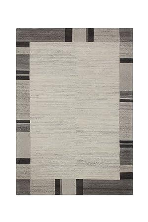 Tapis Salle De Séjour Moquette Carpet Géométrie Design Myanmar   Pathein  Rug Bords Motif Laine 160