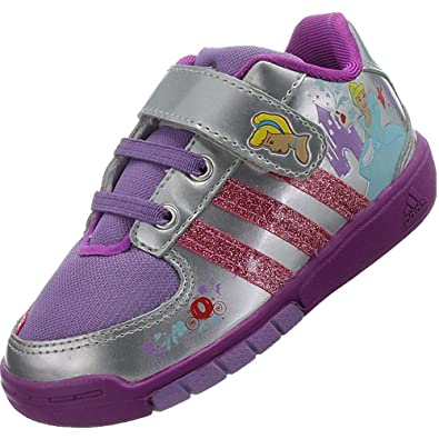 7506a7efaeaae adidas disney princess i gris violet enfant chaussure T 27  Amazon ...