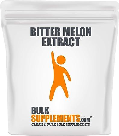 BulkSupplements.com Bitter Melon Extract Powder - Blood Sugar Support Supplement - Sugar Balance Herbal Supplement - Bitter Melon Powder (100 Grams)