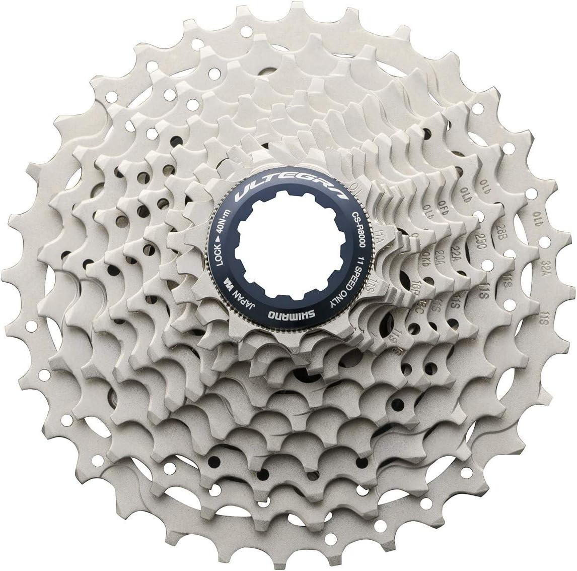 NEW Shimano Ultegra R8000 CS-R8000 Road Bike Cassette 11-25T, 11 Speed
