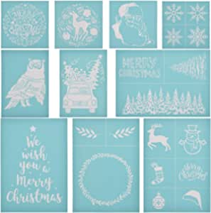 Happy Easter Silk Screen Printing Kit Letter Stencils for Painting on Wood DIY Craft 8.5x11 Inch Paints Transfer