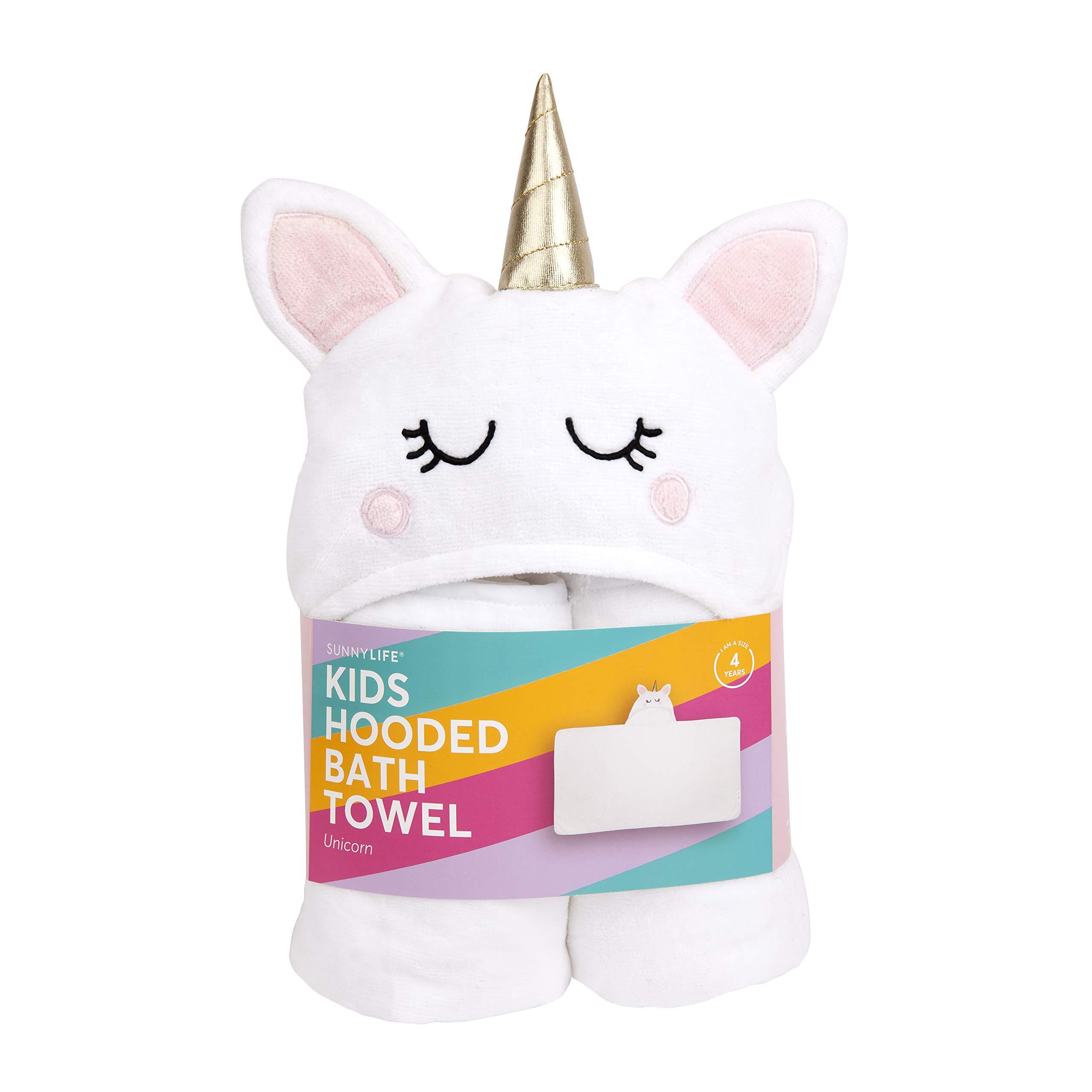 SunnyLIFE Kids Hooded Bath Towel Unicorn by SunnyLIFE