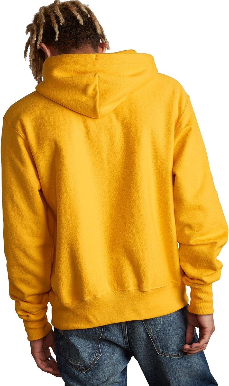 Champion Herren Reverse Weave Pullover Hood-Print Kapuzenpulli Netz-wasserfall Grün