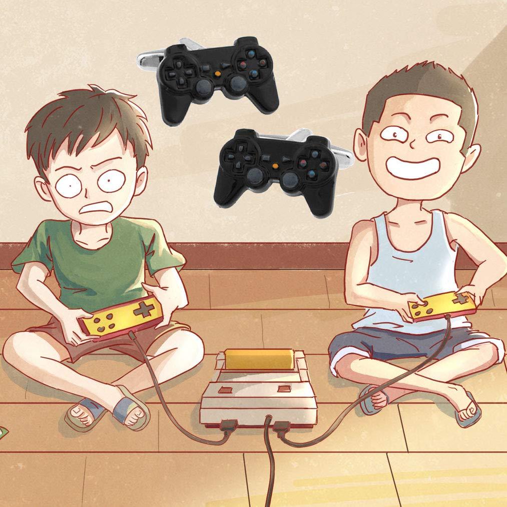MAOFAED Gamer Gift Video Games Fans Gift Video Game Controller Cufflinks Gift for Boyfriend Husband