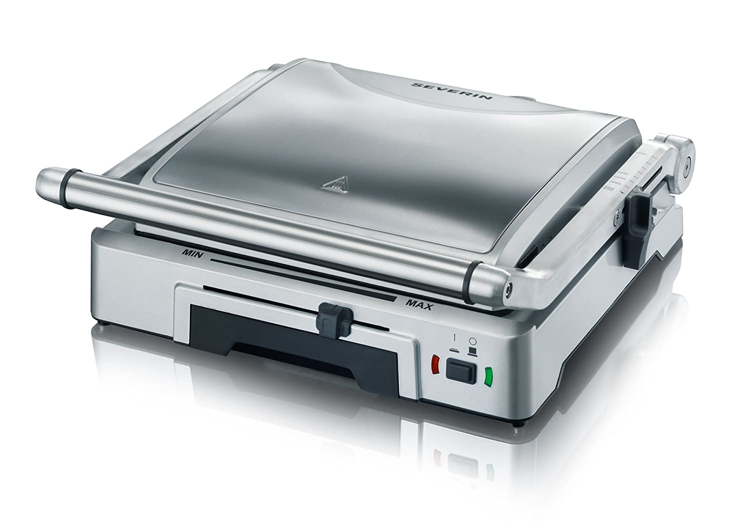 Severin Brushed Stainless Steel Automatic Grill, 1800 Watt, Silver S72392