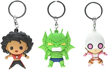 Marvel SDCC 2017 Exclusive - 3D Foam Key Ring - 3 Pc Set Novelty Accessory