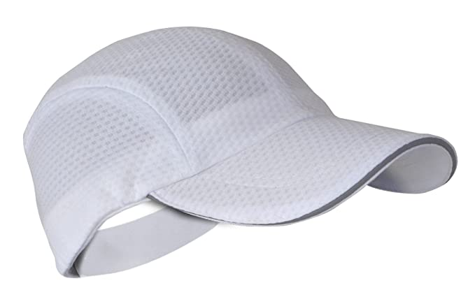 Hytail Women s Athletic Lightweight Baseball Ponytail Hat White Small Medium 53beed413b1