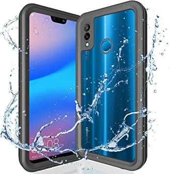 ShellBox Funda Impermeable Huawei P20 Lite, 360 Grados Protective ...
