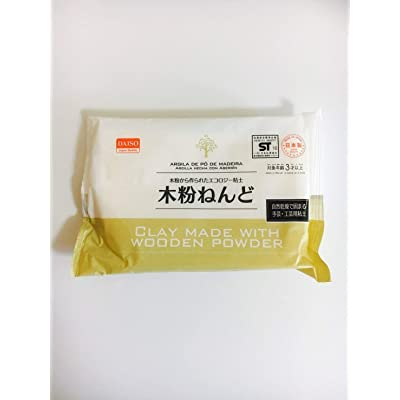 Daiso CLAY MADE WITH WOODEN POWDER-over 6 years old-: Toys & Games