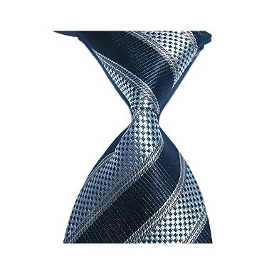 Regalo de rayas de corbata de seda para hombres Corbata de 10 cm ...