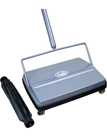 "Fuller Brush Electrostatic Carpet & Floor Sweeper with Additional Rubber Rotor - 9"" Cleaning Path"