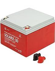 Xunzel Deep Cycle batería solar 12V, 1pieza, solarx de 30