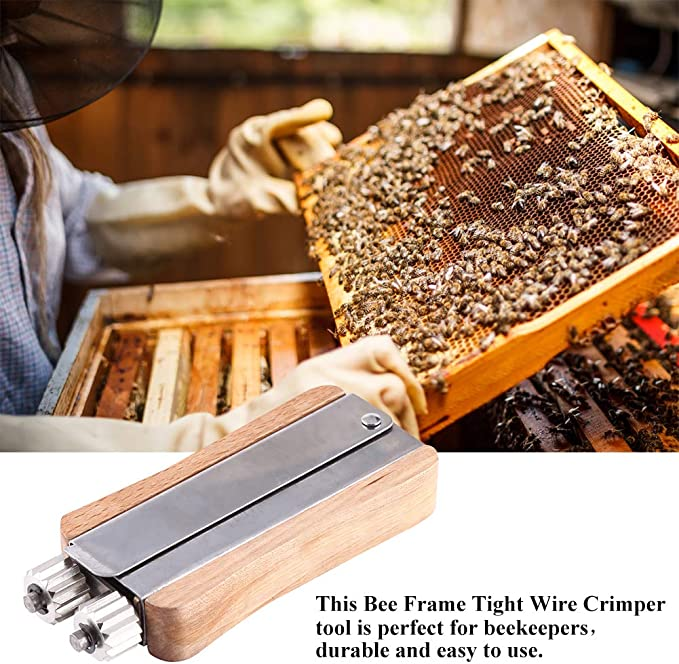 Wosune Beehive Wire Embedder 309g Beekeeping Embedder per Strumento per Apicoltura Strumenti per Apicoltura Attrezzatura per Apicoltura Installatore per alveari