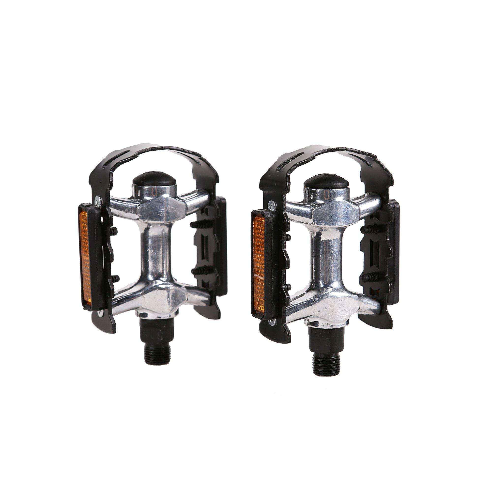 EPICORD Bike Pedals 9/16-Inch Aluminum Alloy Metal Performance Platform Mountain Road Cycling Bicycle