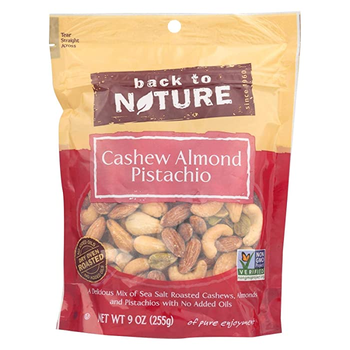 The Best Back To Nature Nuts Mix