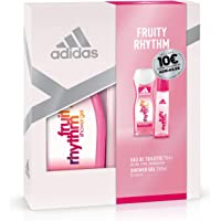 Adidas Fruity Rhythm Set Mujer Duplo Edt 75 + Gel 250