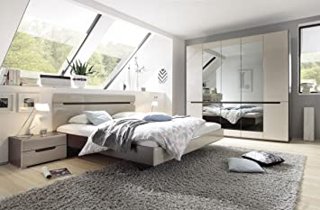 Dreams4home Schlafzimmer Set Ekto Set Schrank 5 Trg