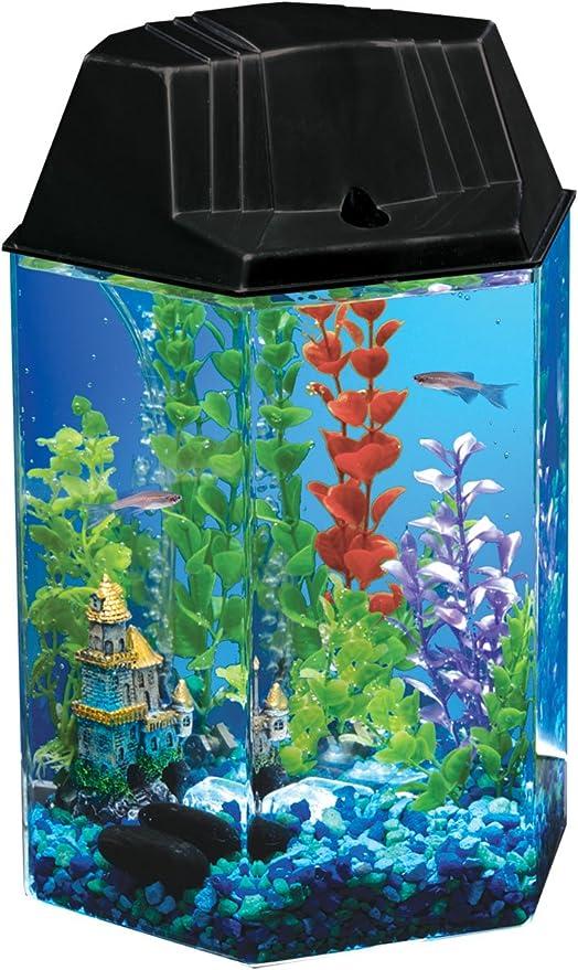 Aqueon Fish Aquarium Starter Kits LED NeoGlow Renewed