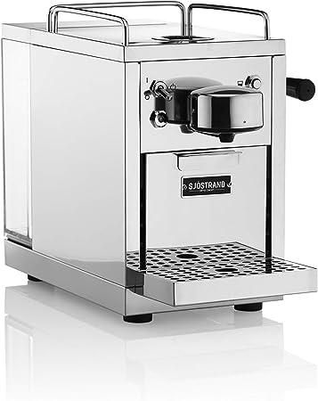 Cafetera automática de expresos Sjöstrand, de Acero Inoxidable para cápsulas monodosis. Compatible con Nespresso: Amazon.es: Hogar