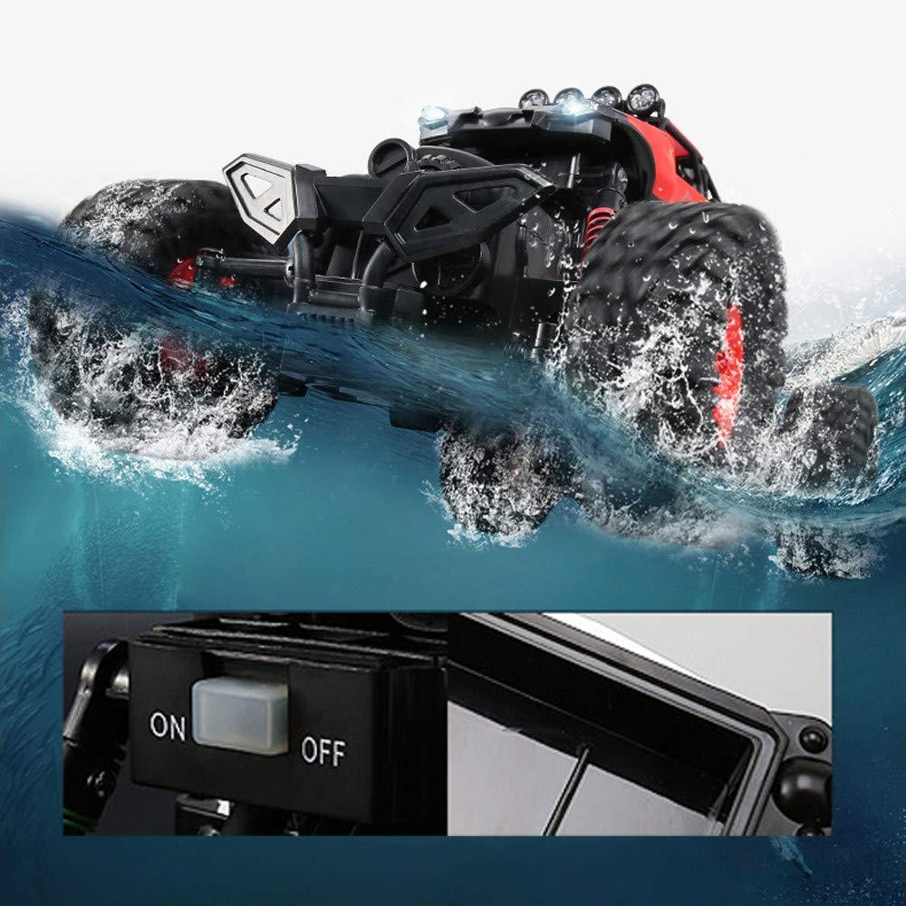 Choosebuy❤️ Christmas Radio Off-Road RC Car Racing, 1:16 Scale 4D 2.4GHz Waterproof Remote Control Vehicle Toys Kids Adults Birthday Christmas Gift (Red) by Choosebuy (Image #3)