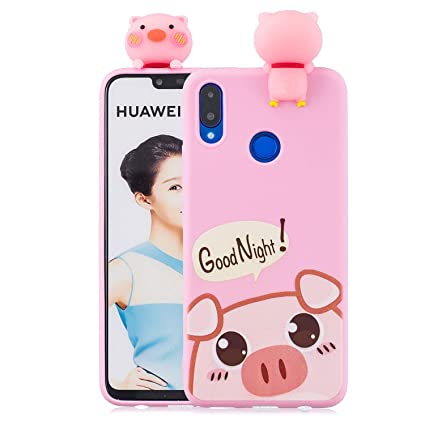best loved ccbdc 2ad3b Amazon.com: Ostop Soft Liquid Silicone Case for Huawei Nova 3i ...
