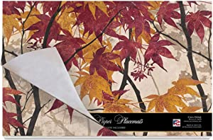 Cala Home 24 Paper Placemats on Premium Paper Stock 17 Inches x 11 Inches Maple Story