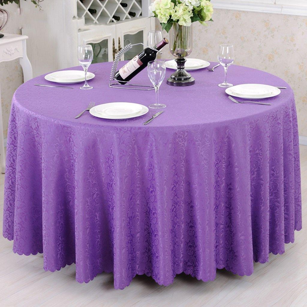 Unbekannt %Tablecloth Runde Tischdecke Tischdecke - Hotel Wohnzimmer Kaffee Tischdecke (CJ6618) (Farbe   D, größe   Round -220cm) B07G57FV9N Tischdecken Modisch | Smart
