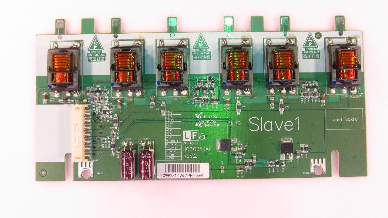 """Westinghouse 60/"""" VR-6025Z C2662Z1 LCD Slave 1 Backlight Inverter Board Unit"""