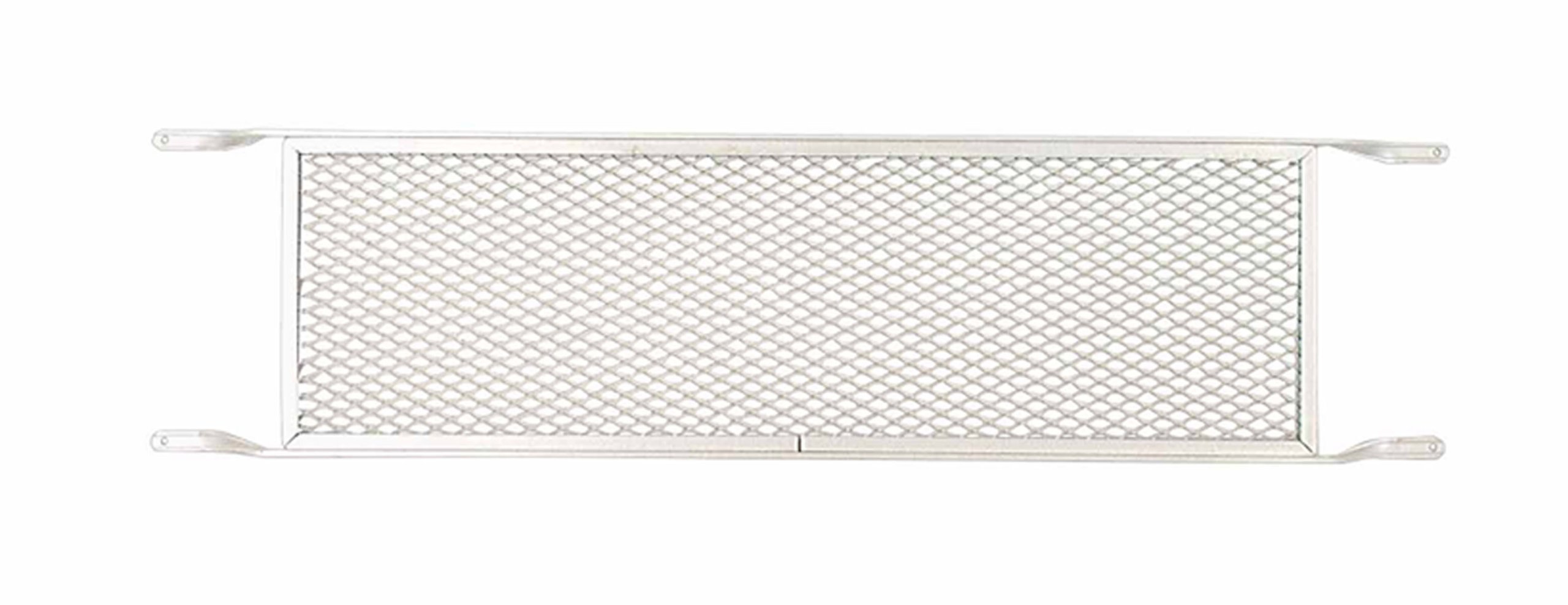 M-D Building Products 33209 M-D Push Door Grill, 36 in H X 8 in W, Aluminum, Mill by M-D Building Products