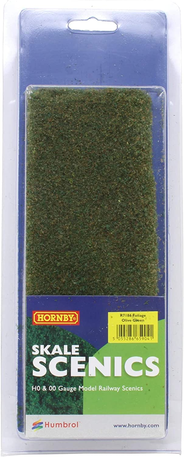 Hornby R7186 Foliage Olive Green Scenic Materials Multi