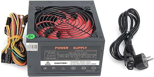 Tutoy 110V-230V 12Cm Ventilador ATX Fuente De Alimentación ...