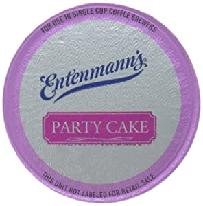Entenmann'S Party Cake Coffee Single Serve Cups, 20 Count, Party Cake, 10 Ounces