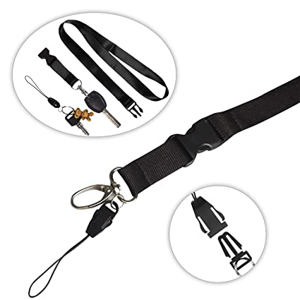 Amazon Com Clearance Neck Lanyards 10 Packpeyou 22 Inch Nylon