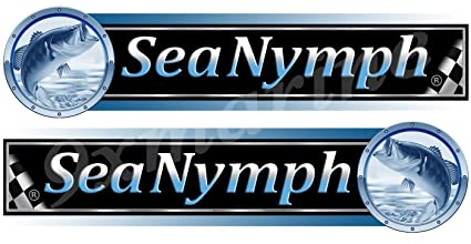 Amazon com: Sea Nymph Decal/Sticker Set For Boat Restoration