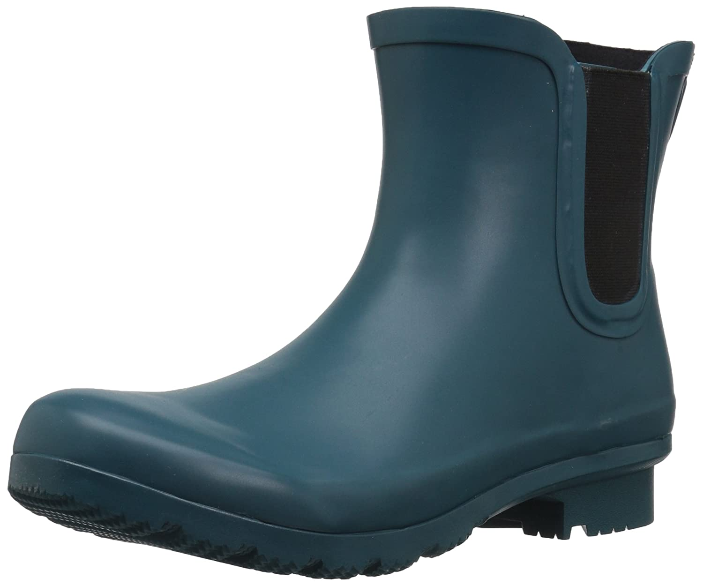 Matte teal Roma Boots Women's Chelsea Rain Boots