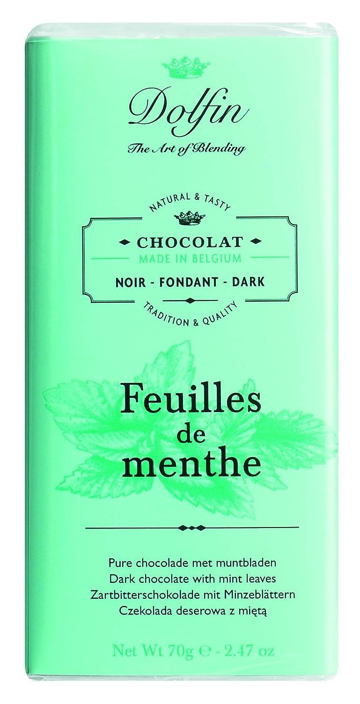 Dolfin Chocolate Negro a Las Hojas de Menta - 3 Paquetes de 1 x 70 gr - Total: 210 gr: Amazon.es: Alimentación y bebidas