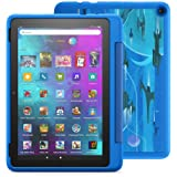 """Introducing Fire HD 10 Kids Pro tablet, 10.1"""", 1080p Full HD, ages 6–12, 32 GB, Intergalactic"""
