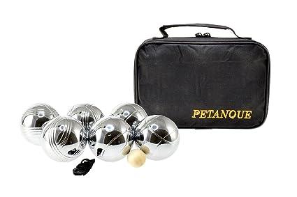 no label jeu de boules set deluxe with carry bag amazon co ukno label jeu de boules set deluxe with carry bag