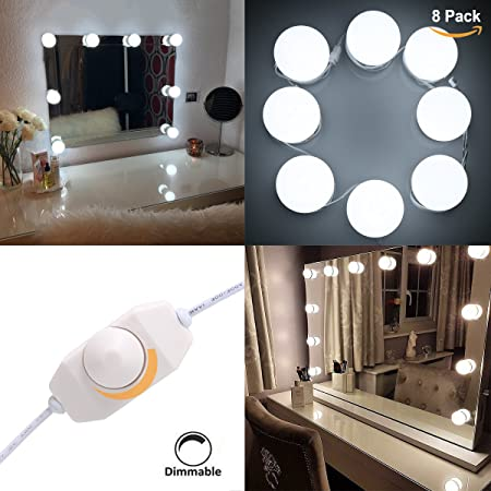 S G Smart Green Hollywood Style Vanity Mirror Lights Led