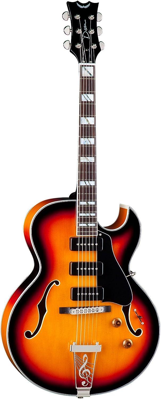 Dean Palomino Guitar Vintage Sunburst Amazon Co Uk Musical Instruments